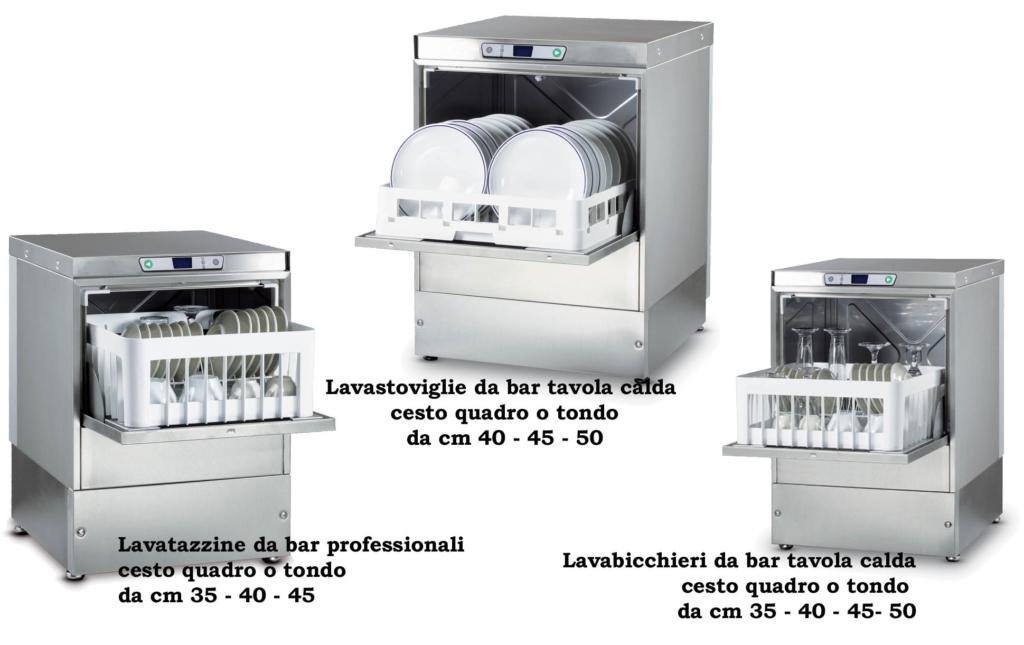 attrezzature professionali per il lavaggio per la ristorazione ...
