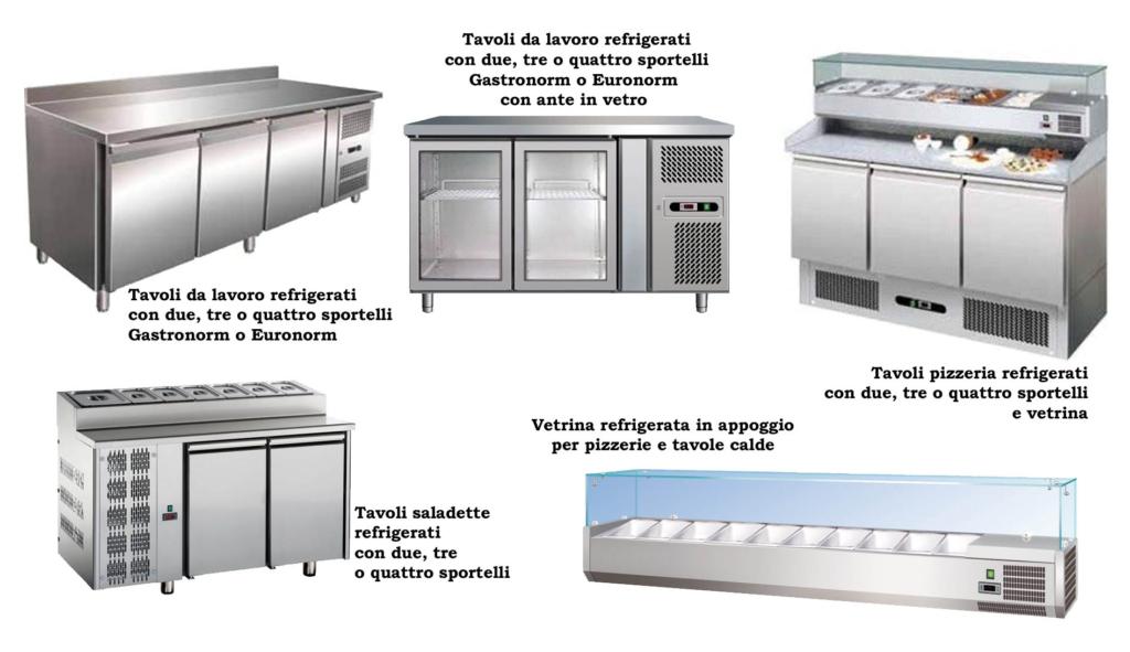 tavoli refrigerati professionali
