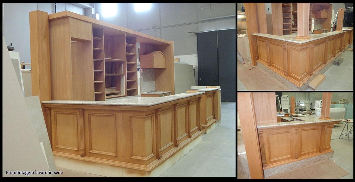 progettazione e costruzione arredamento bar