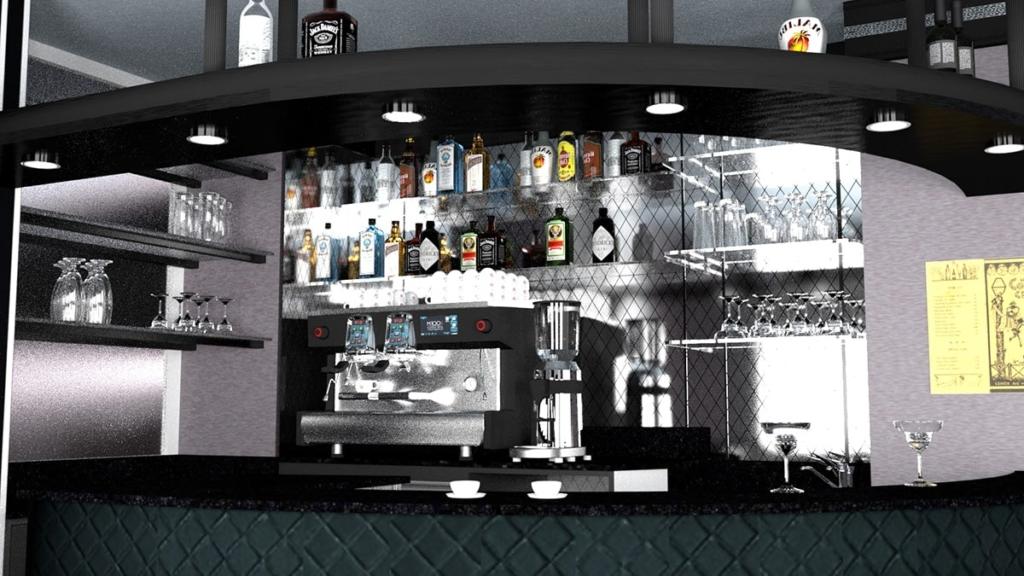 <span class='second-part'>Render cocktail bar </span> Nizza