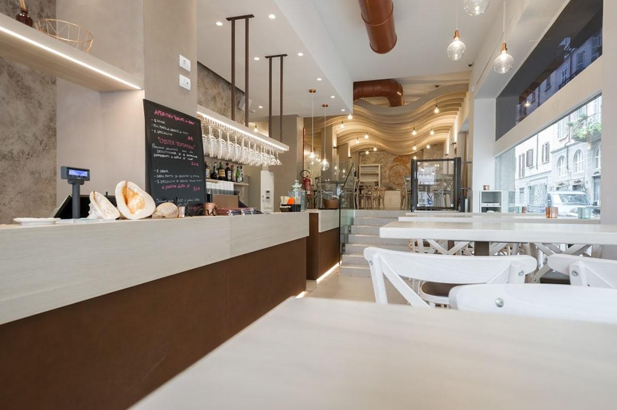 arredamento ristorante Milano-min